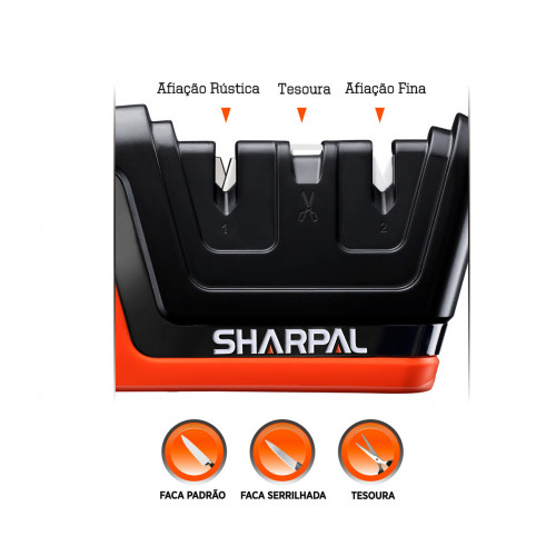 Sharpal 'Кухонні точило для ножів та ножиць'  - Фото 3