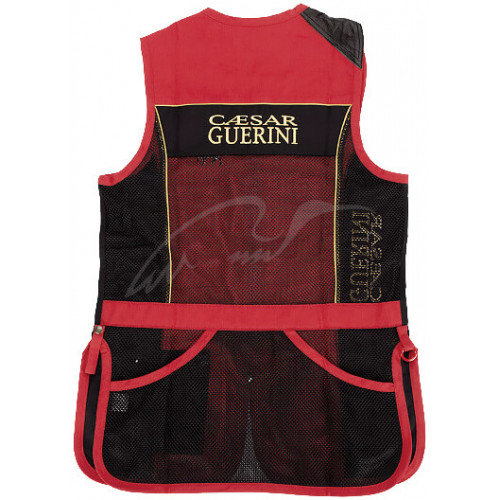 Жилет Caesar Guerini RED & BLACK XXXXL  - Фото 2