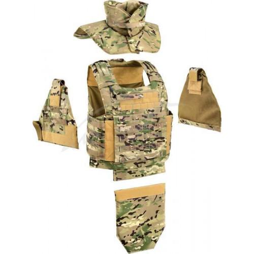 Жилет тактичний Defcon 5 Raptor Vest Complete Set. Колір - мультикам  - Фото 2