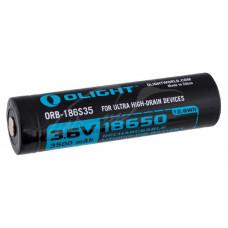 Акумуляторна батарея Olight 18650 HDС (10A) 3500mAh