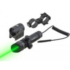 ЛЦУ JG1/3G (зеленый луч) крепление weaver/кольцо 25,3 мм