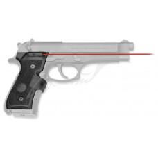 Лазерний целеуказатель Crimson Trace LG-402M на рукоять для BERETTA 92/96/M9. Колір - Червоний