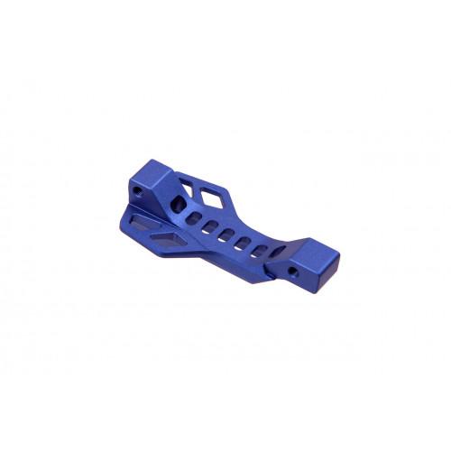 Захисна пластина спускового гачка c майданчиком для пальця (синя)  - Фото 4
