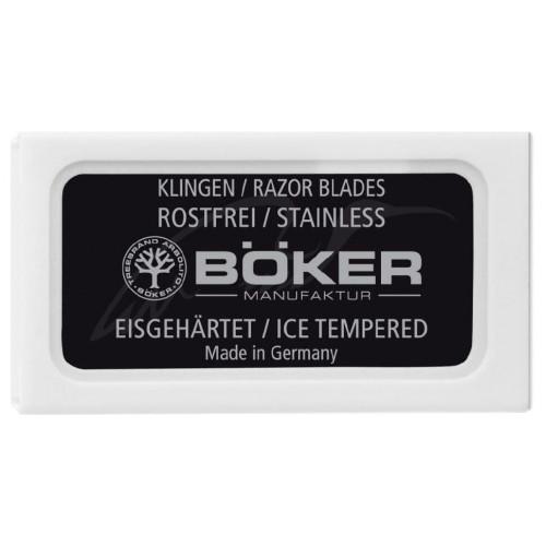 Змінні леза Boker Double Edge Razor Blades (10шт/уп)  - Фото 1