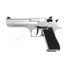 Пістолет стартовий Retay Eagle X кал. 9 мм. Колір - chrome.