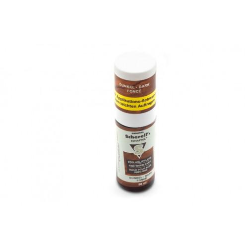 Scherell's Schaftol dunkel масло для дерева темно-коричневое 50 мл  - Фото 3