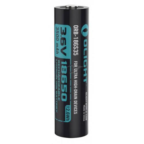 Акумуляторна батарея Olight 18650 HDС (10A) 3500mAh  - Фото 2