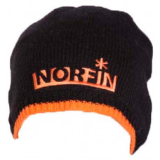 Шапка в'язана на флісі NORFIN Viking чорна