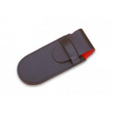 Ехол Victorinox, чорний шкіряний (91 мм, 2 шару)