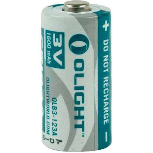 Батарея Olight CR123A 3.0V,1600mAh  - Фото 2