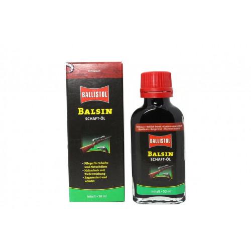BALSIN Schaftol для древесины красно-коричневый 50 мл  - Фото 1