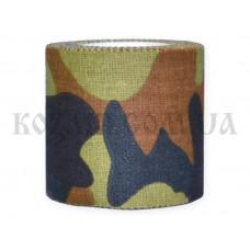 Маскировочная лента 5 х 450 см клейкая Army Camo (покрытие хлопок)